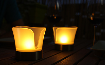 Solar lighting decoration